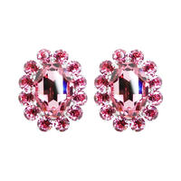 Oversized Single Bijoux Earrings