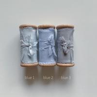 silk ribbon 50mm blue系