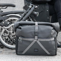 BROMPTON Borough Roll Top Bag Large in Dark Grey(Roll Top Bag 28L Dark Grey)