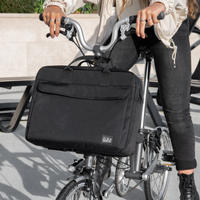 BROMPTON Metro City Bag Medium in Black(City Bag 12L Black)