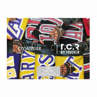 Civiatelier × T.C.R BY TOUCHER  - Vintage jersey Remake Limited Neck Wallet