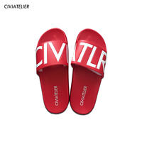 Civiatelier Logo Sandals RED