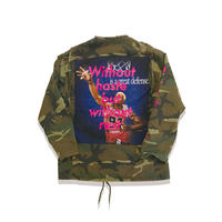 Remake M65 Jacket Just only one Series  (camo×蛍光pink) M