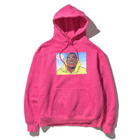Limited Edition DLSM × Civiatelier Influence Hoodie VIVID PINK