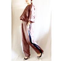 【予約販売】BOUTIQUE  silk cotton line pants TS-3600