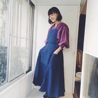 【BOUTIQUE】 X 青山有紀さんコラボアイテム  linen apron TA-AP-01(white eco bag付)