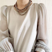BOUTIQUE   silk x pearl tops