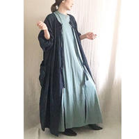 BOUTIQUE X AOYA L  linen atelier coat TA-AP-02bag付き