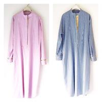 BOUTIQUE stripe cotton  shirts dress TE-3502
