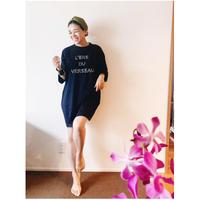 【  早坂香須子さんx VACANCES コラボ  T-shirts 】TM-3601/NAVY