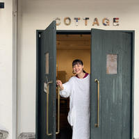 終了しました*予約販売【BOUTIQUE X 青山有紀さん】 linen atelier coat TA-AP-02 WHITE