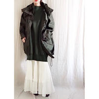 BOUTIQUE  cotton foodie coat /DARK KAHKI