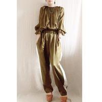 【BOUTIQUE 】 silk cotton line pants TS-3600