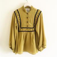 BOUTIQUE silk de chine tops  TG-3402/MUSTRD