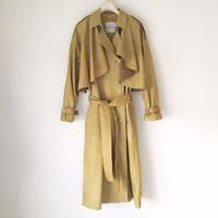 《オーダーメイド》雑誌 éclat 掲載 BOUTIQUE  feather leather trench coat TJO-3200