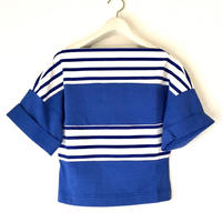VACANCES  border boatneck T-shirts  TM-2802/BLUE