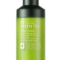 【TONYMOLY 】ザチョクチョクグリーンティウォータリーローション160ml The Chok Chok Green Tea Watery Lotion 160ml
