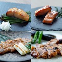 【鮭&銀鱈&豚肉&鶏肉】4パックセット(鮭1 | 銀鱈1 | 豚1 | 鶏1)