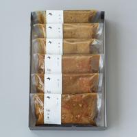 郷の恵 味噌漬け 鮭&銀鱈 6パックセット