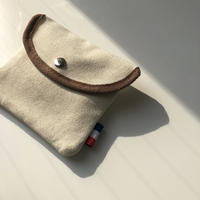french canvas tissue case