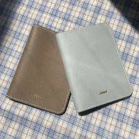 【9月22日発送予定】Veau Epsom leather passport case