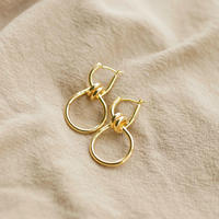 vintage gold pierce