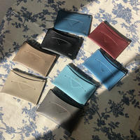 【8月17日発送予定】alran chevre sully leather card case