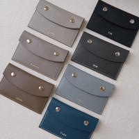 【10月14日発送予定】alran chevre sully leather premium card case
