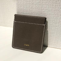 【9月22日発送予定】alran chevre sully leather mini case