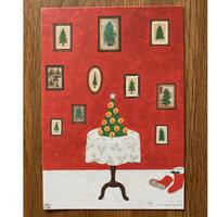 christmasポストカード  Yoko  Matsumoto