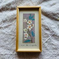 小さな版画絵ayako   「桜」6