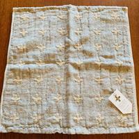 contex  「linen plus」ウォッシュタオル グレー