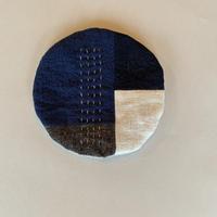 g  「丸コースター」blue  mix