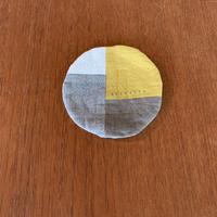 g 「丸コースター」yellow  mix