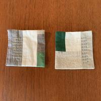 g  「コースター2枚set」green