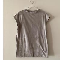 LAITERIE  フレンチTシャツ  gray