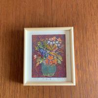 小さな版画絵ayako  「紅茶の壺」4−6