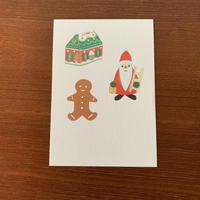 平井みも クリスマスカード サンタ