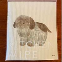 松尾ミユキ スポンジワイプ 「dog」
