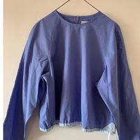 洋服屋めがね 「fu-sen」blouse  blue