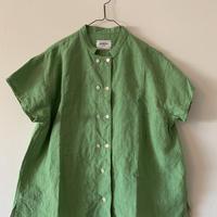 洋ふく屋めがね「夏のコックシャツ」green