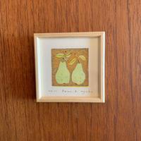 小さな版画絵ayako 「pear」no11