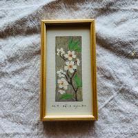小さな版画絵ayako  「桜」7