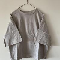 ハンズオブクリエイション   5分丈 Tシャツ gray