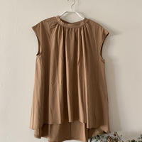 tous  les  jours  カットソー ブラウス  beige mocha