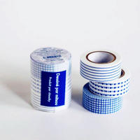 mitsou マスキングテープ 3柄セット ブルー