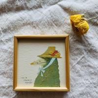 小さな版画絵ayako  「Mole」4