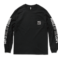 MOC POCKET L/S T-SHIRT (BLACK)