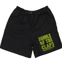 CLAPS BREEZET SHORTS  (BLACK)