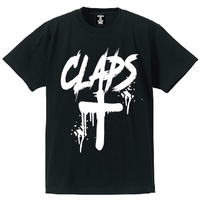 CLAPS CLOSS T-SHIRT  (BLACK)
